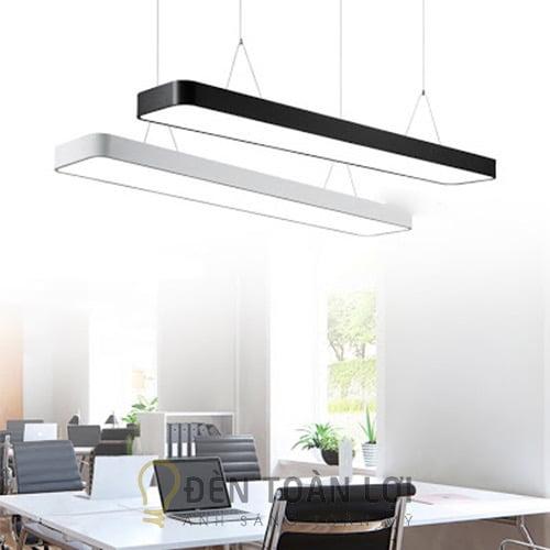 Đèn Thả: Mẫu đèn thả trang trí văn phòng máng hộp 1200 * 200 * 50 mm