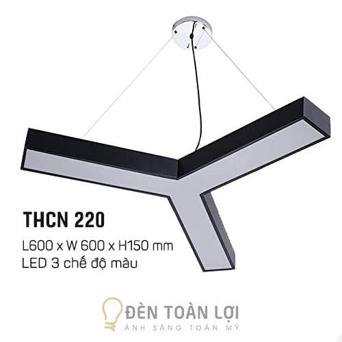 Đèn Thả: Mẫu đèn thả trần chữ Y trang trí văn phòng Hà Nội giá rẻ