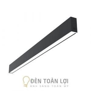 Đèn Thả: Mẫu đèn thả trang trí văn phòng 1200 * 20 * 75 mm nhôm tốt