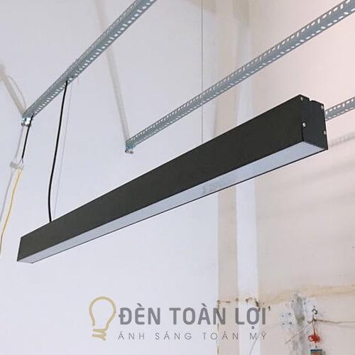 Đèn Thả: Mẫu đèn thả văn phòng nhôm tốt 1200 * 50 * 75 mm loại xịn