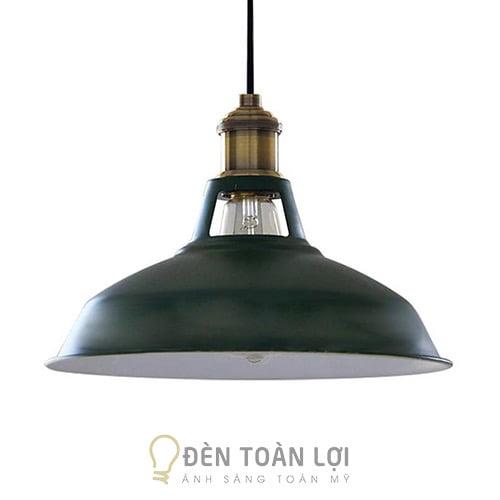 Đèn Thả: Mẫu đèn thả ba lổ đui đồng trang trí quán cafe Hà Nội giá rẻ