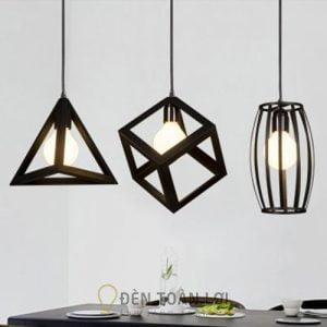 Đèn Thả: Mẫu đèn thả trang trí quán cafe hình trụ giá siêu rẻ