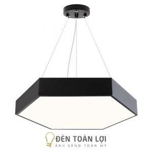 Đèn thả: Mẫu đèn thả lục giác đều đặc trang trí cho văn phòng
