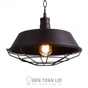 Đèn Thả: Mẫu đèn thả bàn ăn có lồng sắt giá rẻ ở Hà Nội