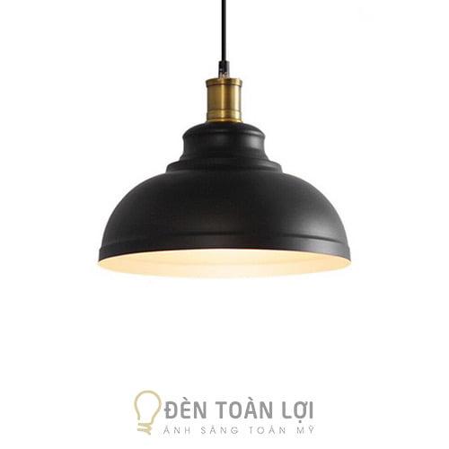 Đèn Thả: Mẫu đèn thả trần trang trí quán cafe, quán ăn đui đồng