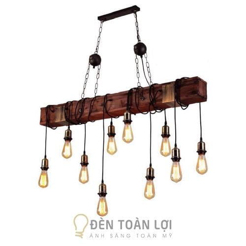 Đèn thả- Mẫu đèn thả trang trí quán cafe, quán ăn giá rẻ ở Hà Nội (45)