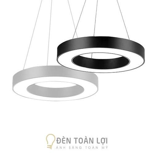 Đèn thả: Mẫu đèn thả tròn hình nhẫn trang trí văn phòng phi 600mm