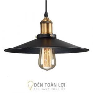 Đèn Thả: Mẫu đèn thả đĩa bay bằng sắt sơn tĩnh điện, đui đồng cực chất