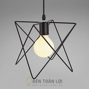 Đèn Thả: Mẫu đèn rọ sắt 8 dáng giá rẻ trang trí quán cafe
