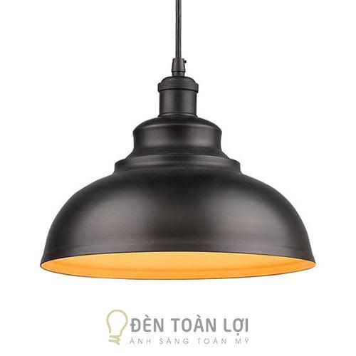 Đèn Thả: Mẫu đèn thả trần trang trí quán cafe đui đen