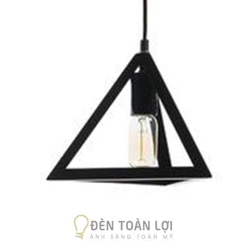 Đèn Thả: Mẫu đèn thả cafe dáng kim tự tháp giá siêu rẻ