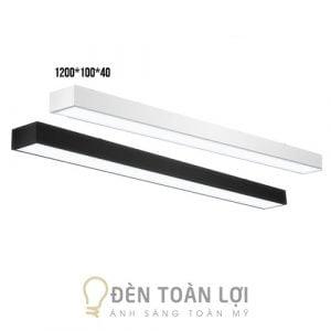 Đèn thả văn phòng máng hộp 1200 * 100 * 40mm giá cực rẻ