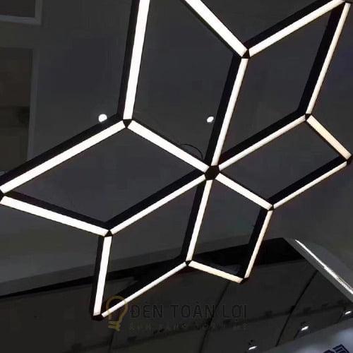Đèn thả văn phòng máng hộp 600 700 40 mm giá cực rẻ