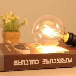Bóng Đèn: Mẫu bóng LED G95 vỏ trong 4W