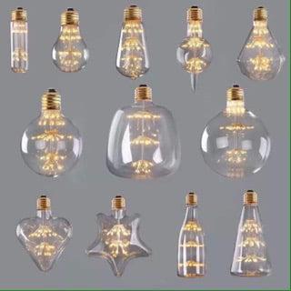 Bóng Đèn: Mẫu bóng LED G95 kim cương hoa 3W trang trí quán cafe