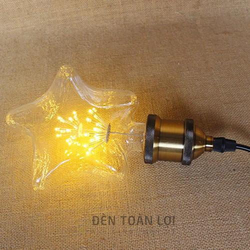 Bóng Đèn: Đèn LED ngôi sao trang trí quán cafe, trà sữa Hà Nội