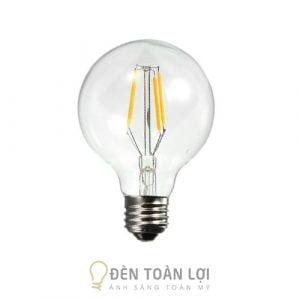 Bóng Đèn: Mẫu bóng đèn Led Edison G80 trang trí quán cafe