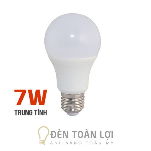Bóng Đèn: Bóng bulb 7W ánh sáng trung tính kín nước