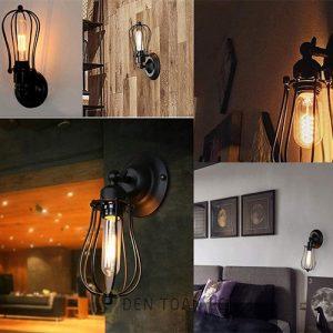 Đèn Vách: Mẫu đèn vách cổ điển trang trí quán cafe Hà Nội