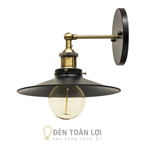 Đèn Vách: Mẫu đèn vách choá đĩa bay phi 220 trang trí quán cafe