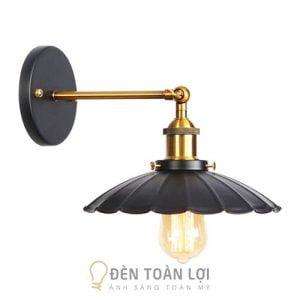 Đèn Vách: Mẫu đèn vách gắn tường chụp lá sen trang trí quán cafe