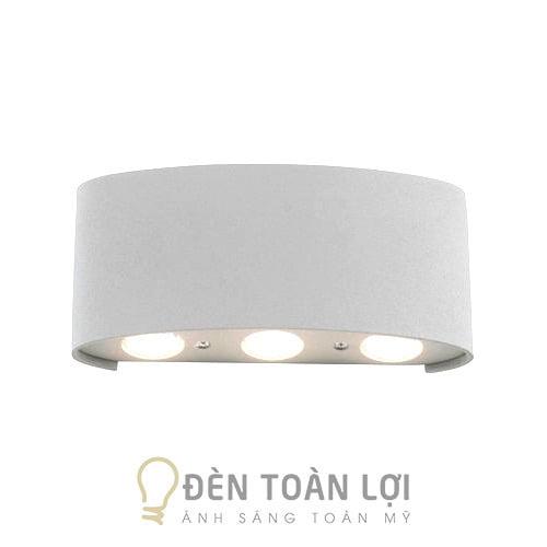 Đèn Vách: Mẫu đèn vách 6 tia hắt tường trên dưới trí vách nội ngoại thất