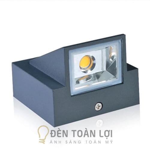 Đèn Vách: Mẫu đèn LED hắt tường trang trí vách ngoài trời giá rẻ