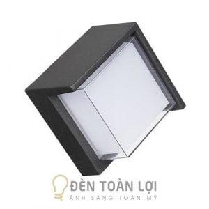 Đèn Vách: Mẫu đèn vách ngoài trời dạng hộp vuông trang trí cực đẹp