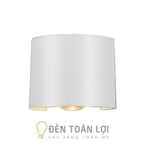 Đèn Vách: Mẫu đèn vách hắt tường 2 tia trên dưới trang trí cầu thang Hà Nội